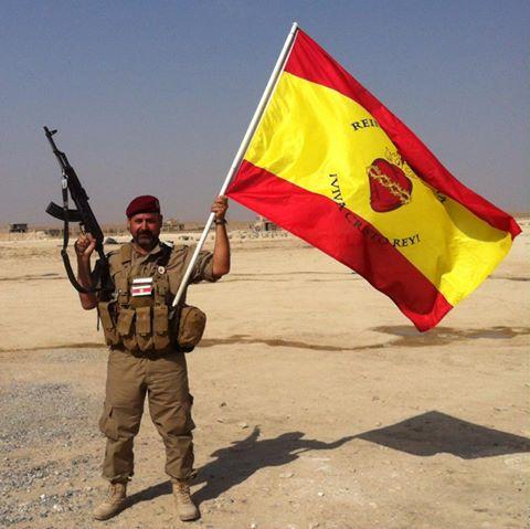Voluntarios españoles contra el DAESH II. Segunda parte del video de la lucha de Simon de Monfort contra el DAESH