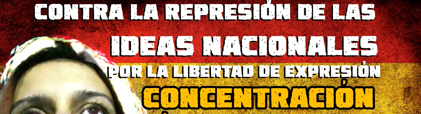 Concentración en Barcelona contra la represión de las Ideas Nacionales