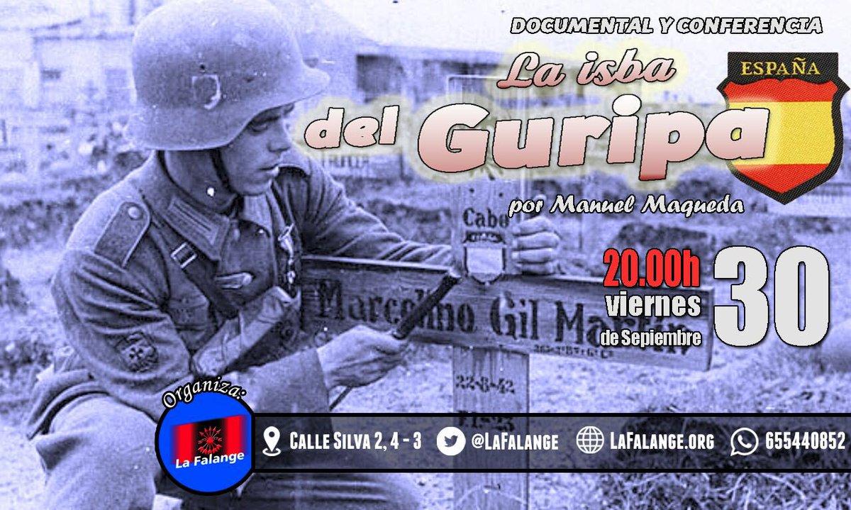 """Proyección del documental y conferencia """"La isba del Guripa"""", por Manuel Maqueda"""
