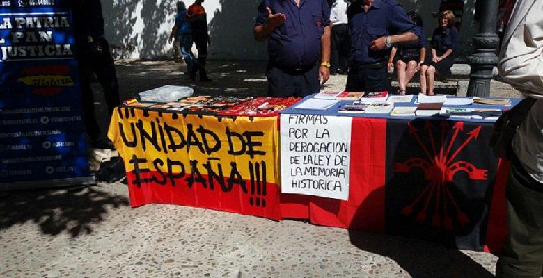 EL alcalde del PP del Ayuntamiendo de Villaviciosa de Odón intentó boicotear un puesto de La Falange