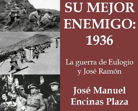 """Presentación en la Hermandad de la Vieja Guardia del libro """"Su mejor enemigo: 1936. La guerra de Eulogio y José Ramón"""", de José Manuel Encinas Plaza"""