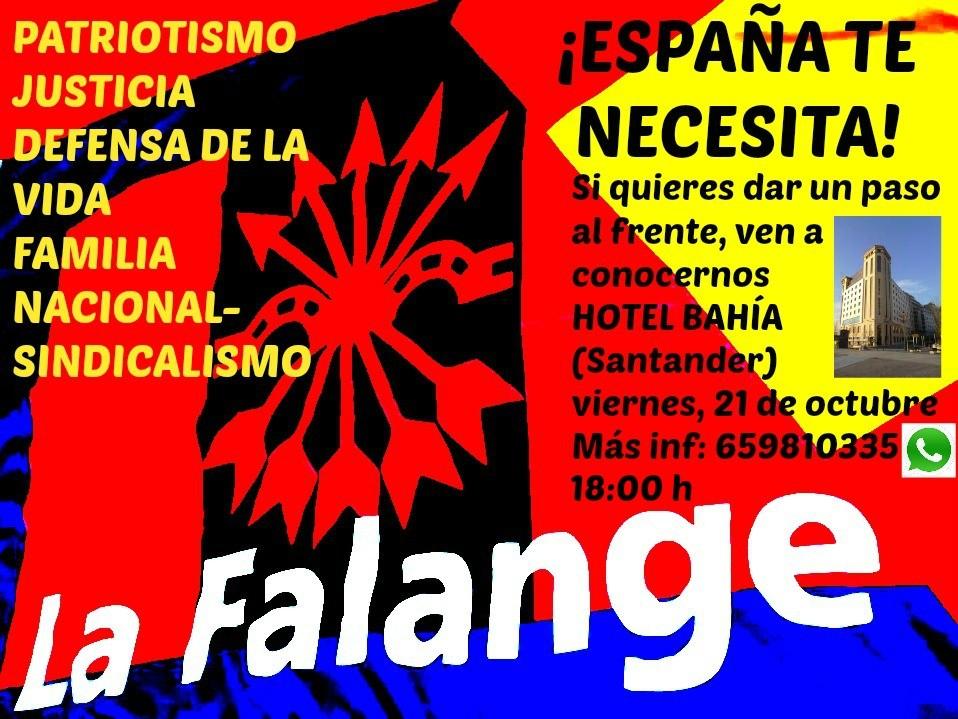 Encuentros de La Falange en Santander