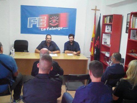 Asamblea Provincial de La Falange de Murcia