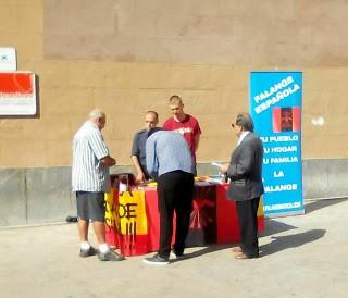 Continúan las actividades de La Falange de Murcia