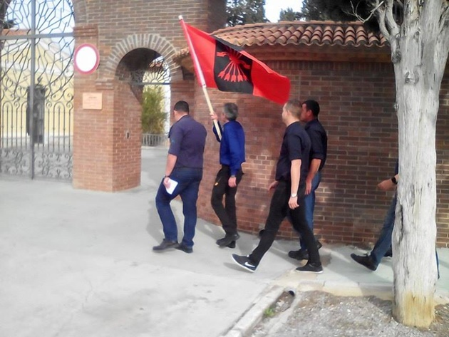 La Falange de Murcia honra a los camaradas caídos
