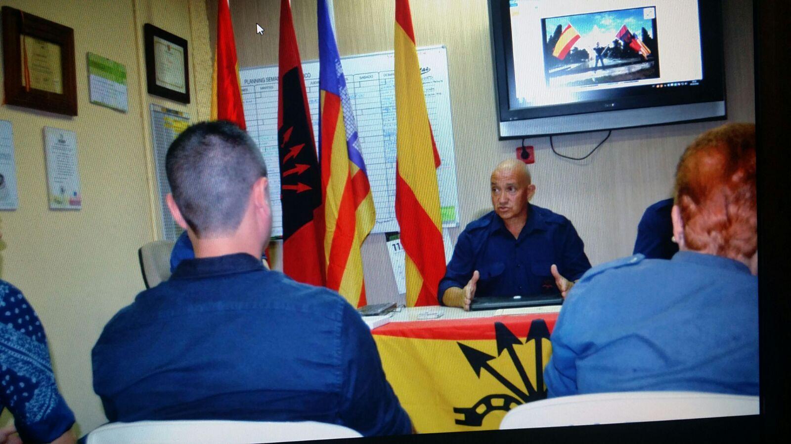 La Falange de Baleares celebra el 83 aniversario de la fundación de Falange Española