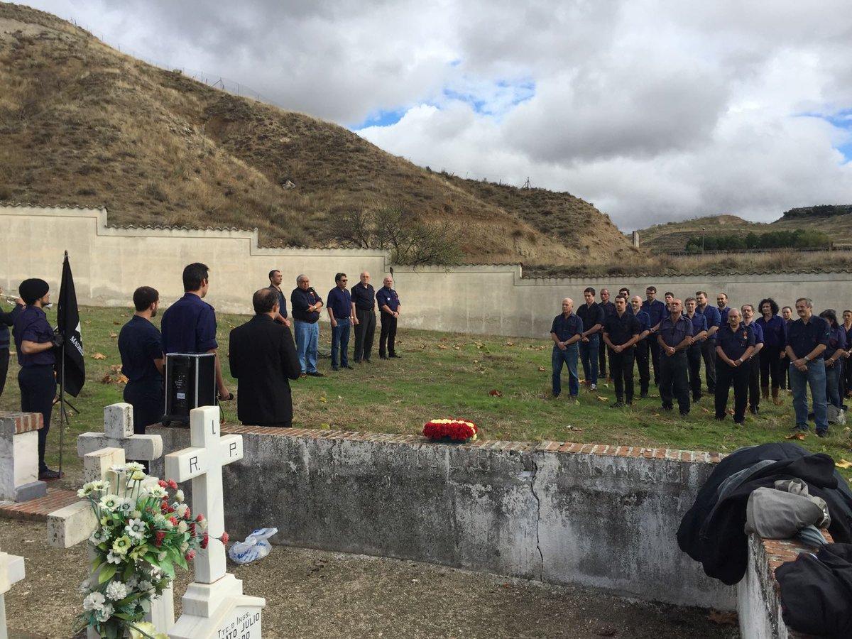 Homenaje del SEU a Alejandro Salazar en Paracuellos