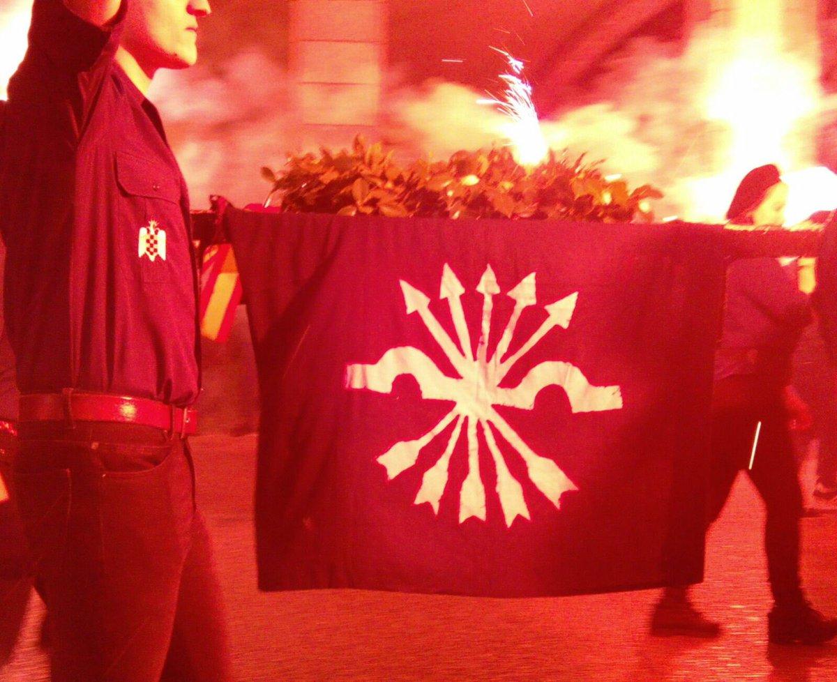 Vídeo de la Marcha de la Corona en memoria de José Antonio Primo de Rivera