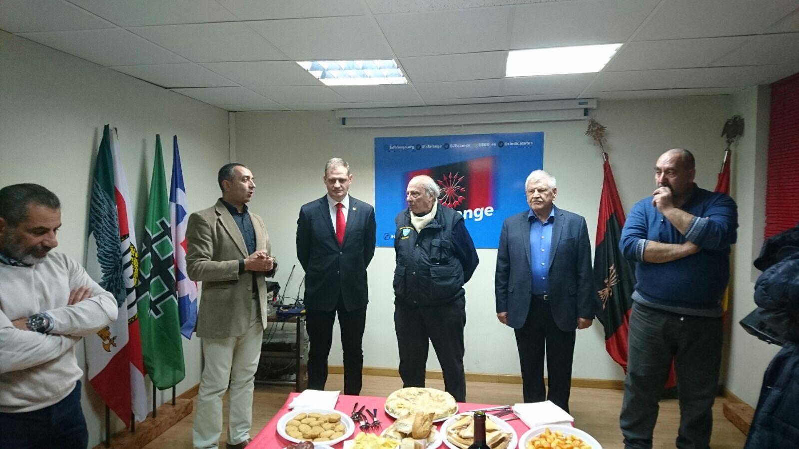 Celebración del Vino Español en la Sede Nacional de La Falange