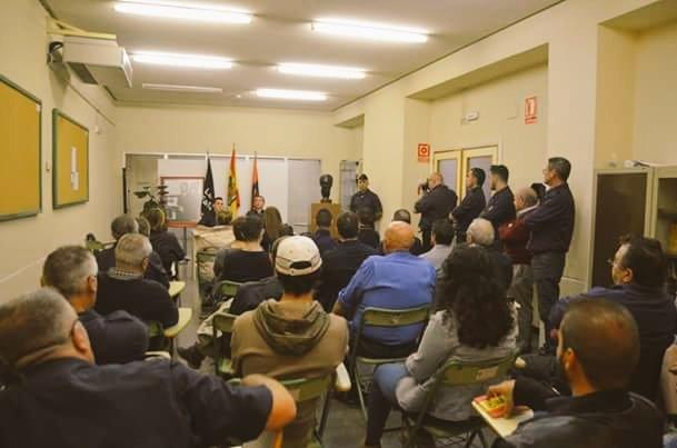 Conferencia realizada por la Provincial de Alicante en la antigua Casa Prisión de José Antonio.