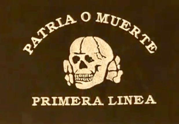 Carga de la Primera Línea de La Falange contra la extrema izquierda el pasado 29 de Octubre