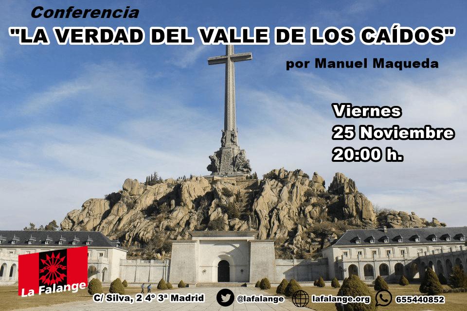 """""""La verdad del Valle de los Caídos"""", conferencia a cargo de Manuel Maqueda"""
