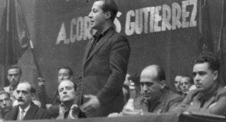 La Falange de Baleares conmemora el 80 aniversario del asesinato de José Antonio
