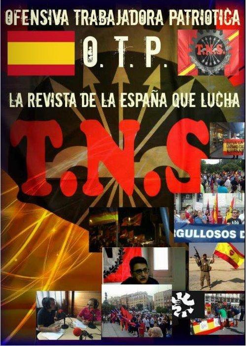 Ofensiva Trabajadora Patriótica OTP 2016. Revista anual del Sindicato TNS