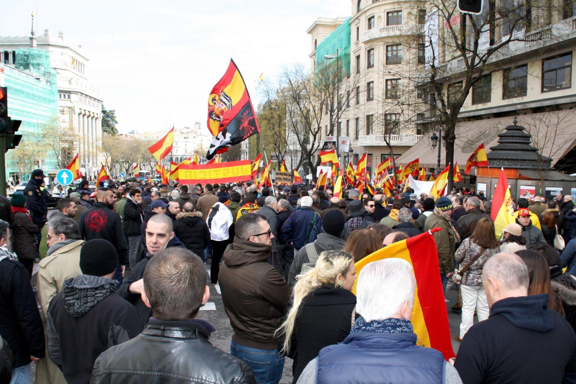 Manifestaciones por la absolución de los 14 de Blanquerna