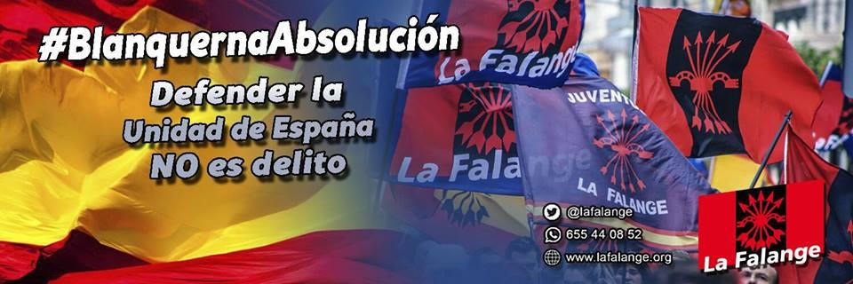 """""""Caso Blanquerna"""" – Comunicado de La Falange"""