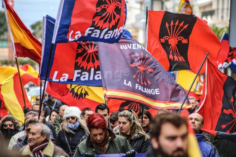 Crónica de la manifestación en Callosa de Segura en defensa de la Cruz y contra la Ley de Memoria Histórica