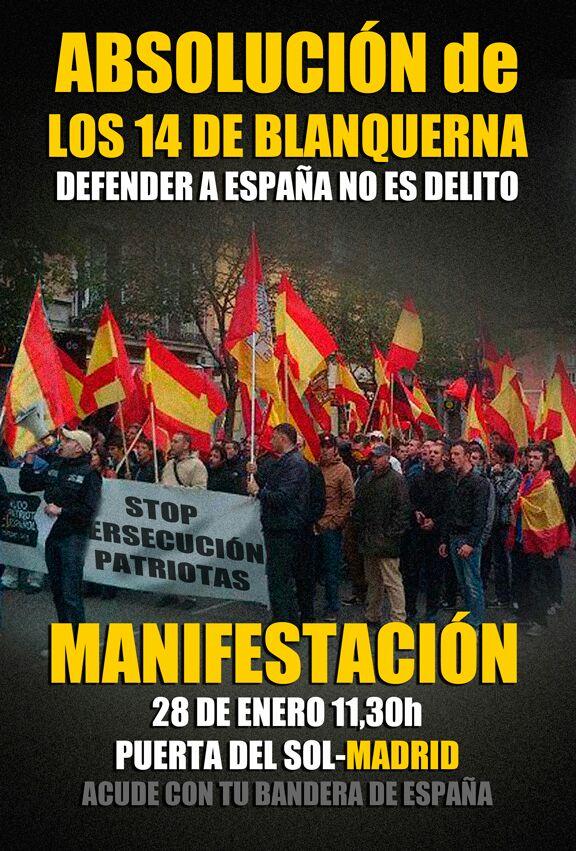 Caso Blanquerna, se levanta la veda de la caza del patriota en España (Intervención de Jesús Muñoz en Radio Inter)