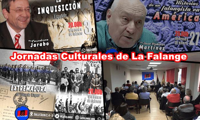 Vídeos de las últimas conferencias celebradas en la Sede Nacional de La Falange