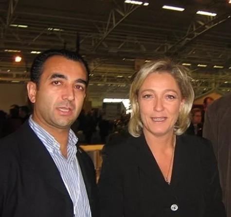 Marine Le Pen rechaza ponerse el velo islámico para visitar al imán líder religioso del Líbano