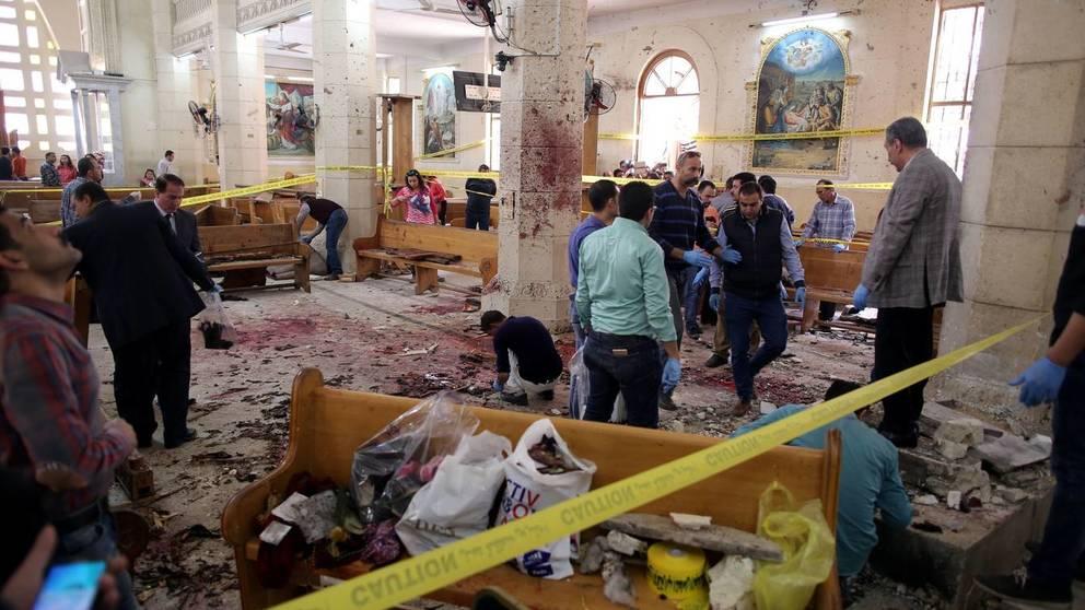 El atentado en Egipto contra Cristianos.