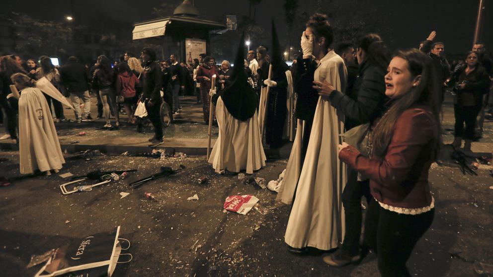 Los disturbios creados en Semana Santa