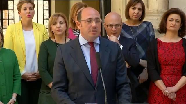 Comunicado de La Falange de Murcia ante la dimisión de Pedro Antonio Sánchez