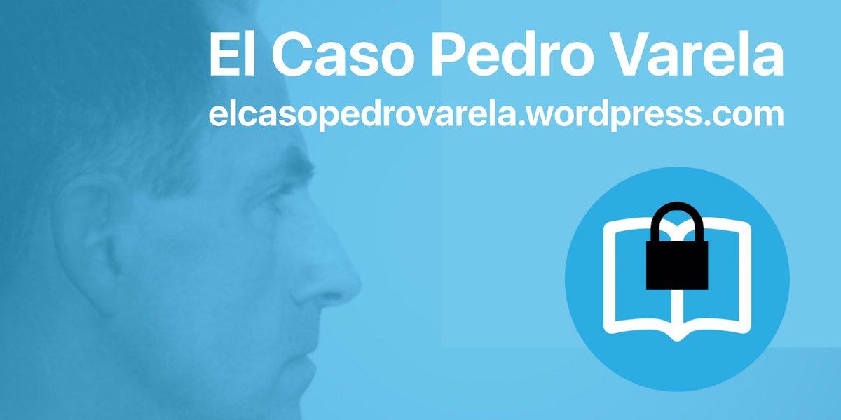 Condenan de nuevo a Pedro Varela