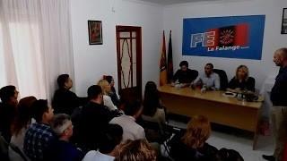 Inauguración de la nueva sede local de La Falange en Molina de Segura