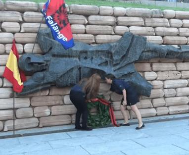 Vídeo del acto homenaje a los caídos del Cuartel de la Montaña y explicación de los incidentes.