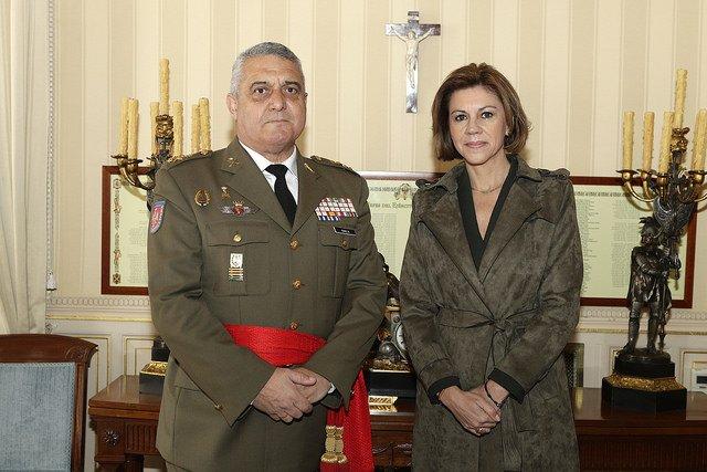 Carta enviada del Delegado del TNS Jesús Lanzas al Jefe del Estado Mayor de la Defensa D. Francisco Javier Varela Salas