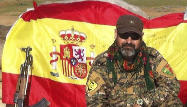 """Noticia del ABC: """"El miliciano español que cruza de Irak a Siria para luchar contra Daesh"""""""