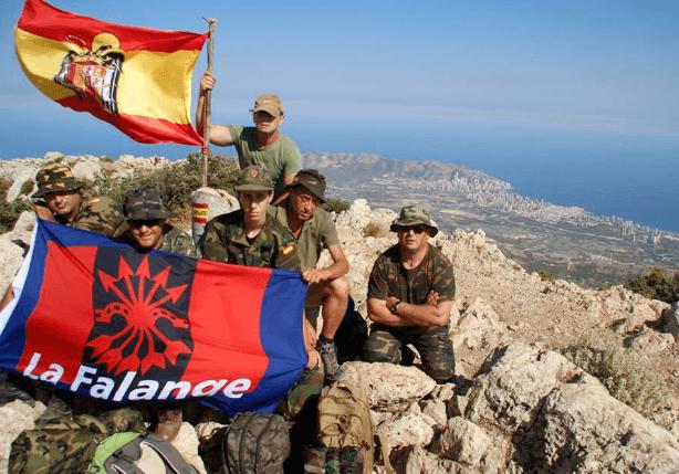 Actividad de montaña 2017 de la Jefatura Territorial de Alicante (Puig Campana)