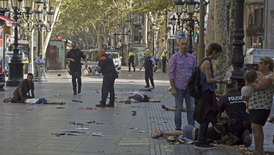 Acude mañana a la concentración en repulsa del atentado Yihadista en Barcelona. Viernes 18 a las 19.00 horas en la Boquería C/. Rambla 91. Barcelona