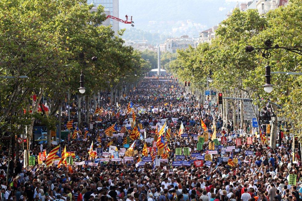 No fue una manifestación contra el terrorismo islamista. Comunicado de La Falange.