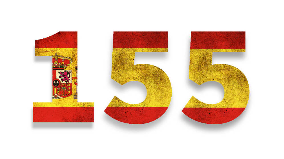 La aplicación del 155 tarde y mal