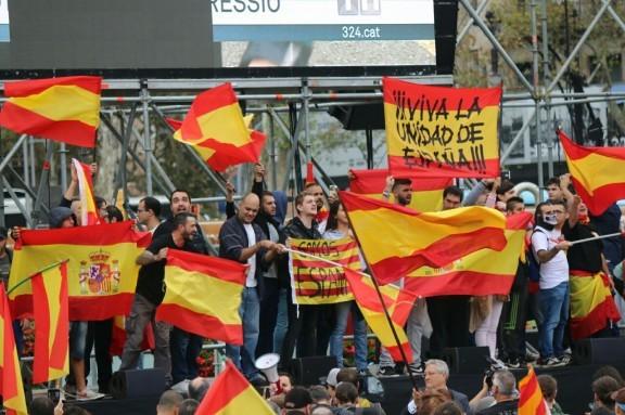 El 1-O de nuevo en las calles de Barcelona