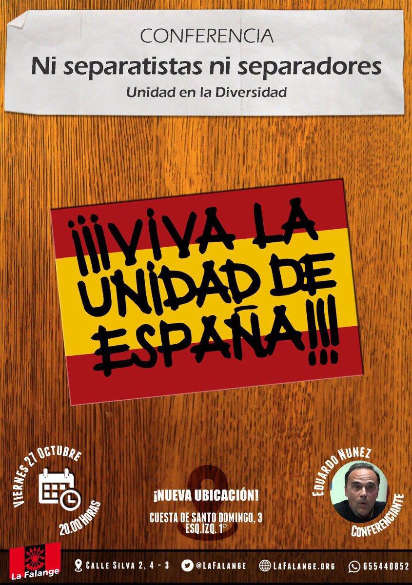 """Viernes cultural: """"Ni separatistas ni separadores"""" por Eduardo Nuñez"""