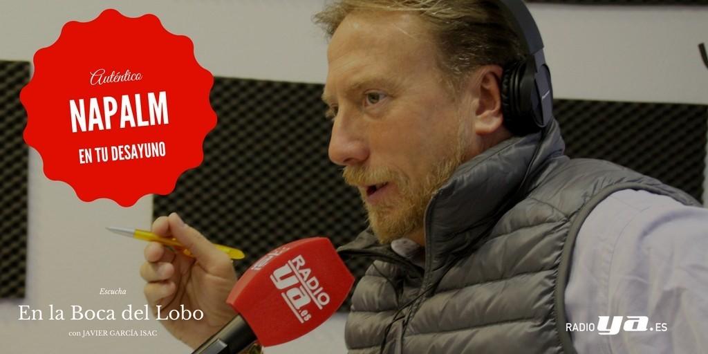 La farsa de Puigdemont: nadie le persigue. Entrevista en Radio Ya a Manuel Andrino ante su entrada en prisión