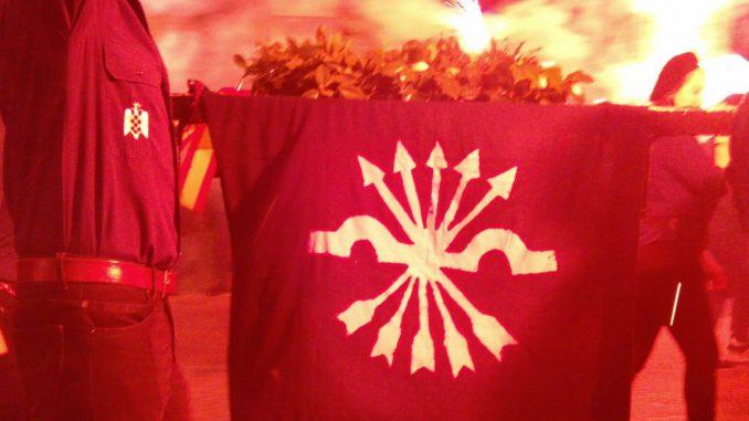 Marcha de la Corona en memoria de José Antonio Primo de Rivera (vídeo)