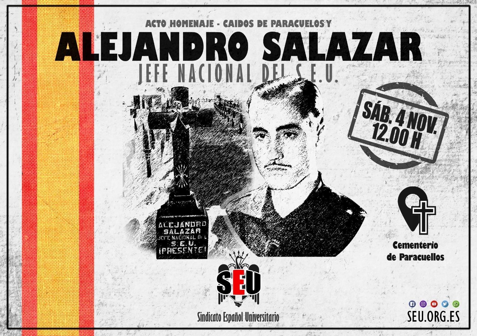 Sábado, 4 de Noviembre: Acto por los 5000 asesinados en Paracuellos ¡ACUDE!