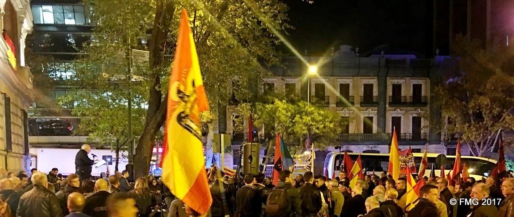 Manifestación y discursos del 17 de Noviembre (vídeo)