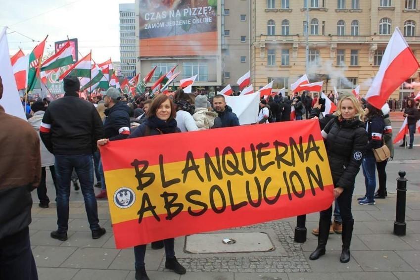 Homenaje a los encausados de Blanquerna en Polonia