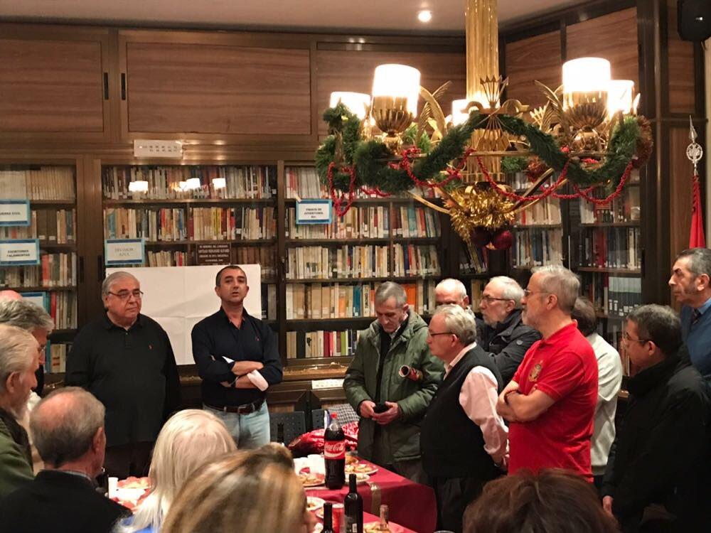 Celebración navideña en Vieja Guardia