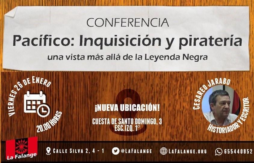 26 de Enero: viernes cultural sobre la Leyenda Negra con Cesáreo Jarabo