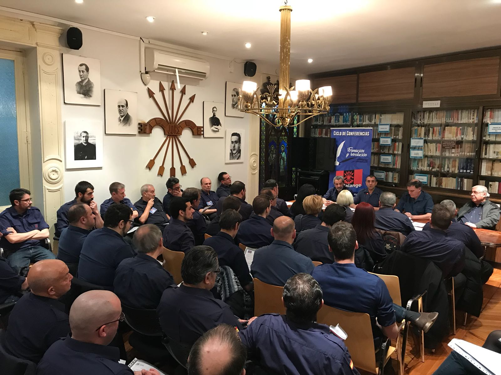 Celebrado el Consejo Nacional de La Falange