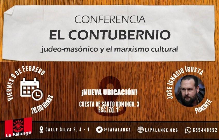 9 de Febrero, viernes cultural sobre el marxismo cultural con José Ignacio Irusta