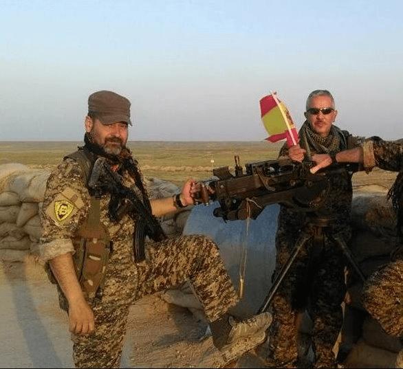 Voluntarios españoles abaten a seis yihadistas en Irak cuando protegían a periodistas alemanes