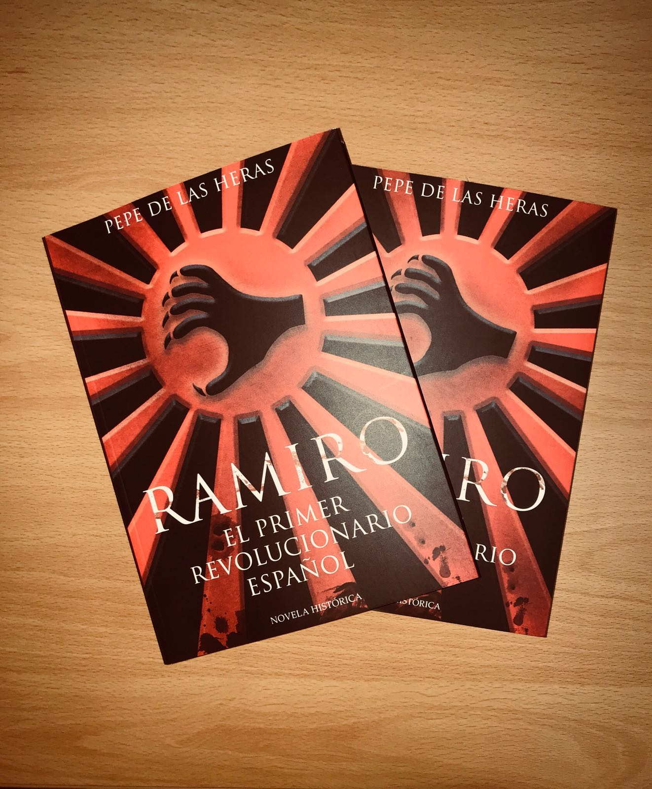 """Viernes 4 de Mayo: Presentación de """"Ramiro. El primer revolucionario español"""" en Madrid"""