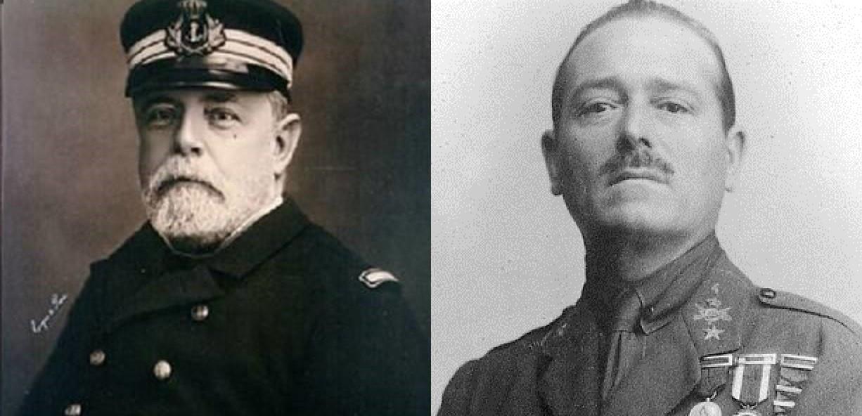 Vergonzosa actitud militar ante la retirada de calles al Almirante Cervera y a Millán Astray